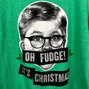 Oh Fudge! It's Christmas - a Christmas Story tee